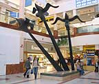 Exciting Large Scale Metal Sculpture By Forging Ahead